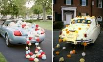 wedding photo - Car decorations