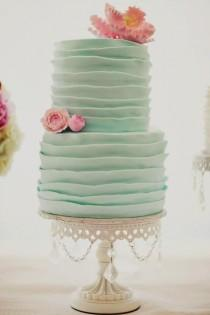 wedding photo - Gorgeous Pink & Teal Modern Dol {First Birthday