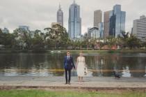 wedding photo - Creative Rustic Wedding in Melbourne: Annabel & Steve
