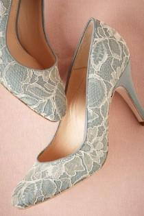 wedding photo - Sky Lace Pump