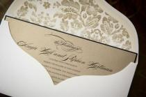 wedding photo - Invitation Paper Gold