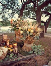 wedding photo - Beautiful Autumn Decoration