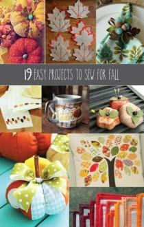 wedding photo - 19 Easy Projects To Sew For Fall -