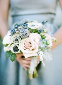 wedding photo - Viburnum Berries Wedding Bouquet And Arrangement Ideas: In Season Now