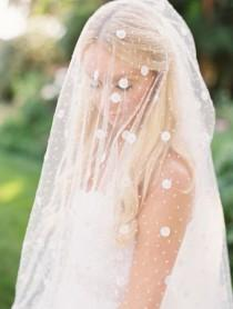 wedding photo - Unique And Beautiful Wedding Veil. Lane Dittoe Fine Art Wedding Photographs