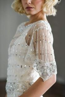 wedding photo - Vicky Rowe: A Debut Collection Of 1920s And 1930s Inspired Heirloom Style Wedding Dresses