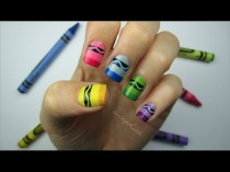 wedding photo - Crayon Nail Art
