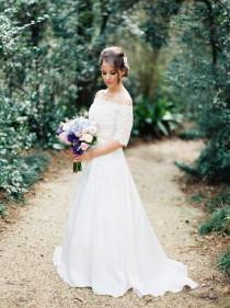 wedding photo - Weddings-Bride-Lace
