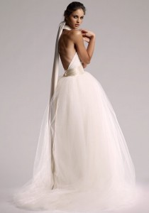 "wedding photo - VINTAGE ORIGIN Infinity Wedding Dress In ""Pearl"" White"