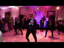 wedding photo - Groomsmen Plan Surprise Wedding Dance, Goes Viral