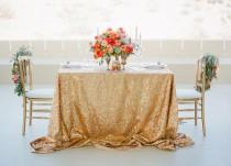 wedding photo - Gold Wedding Inspiration