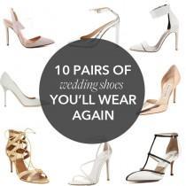 wedding photo - 10 Crazy Stylish Wedding Shoes You'll Wear Again