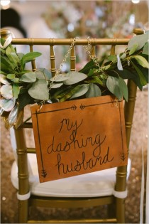 wedding photo - Wedding CHAIRS-Bride & Groom