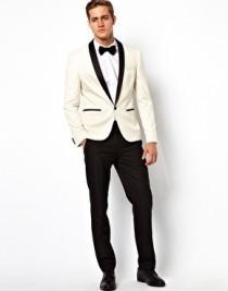 wedding photo - Slim Fit Tuxedo Suit Jacket