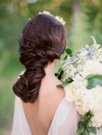 wedding photo - Romantic Twisted Braid Hairdo