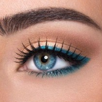 wedding photo - 12 Easy Ideas For Prom Makeup For Blue Eyes