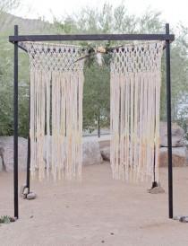 wedding photo - Light-Drenched Desert Wedding: Briana   Jason