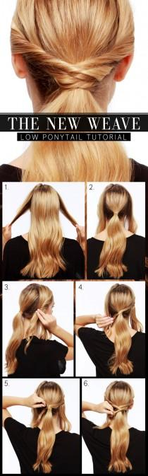 wedding photo - Top 10 Most Popular Hair Tutorials For Spring 2014
