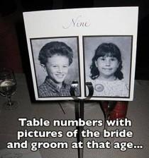 wedding photo - Tables №