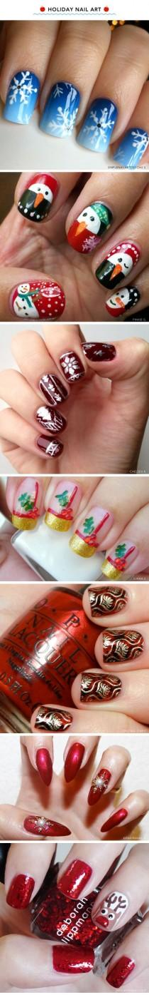 wedding photo - 7 Santa-Approved Christmas Manicures