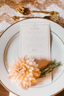 wedding photo - Place Settings