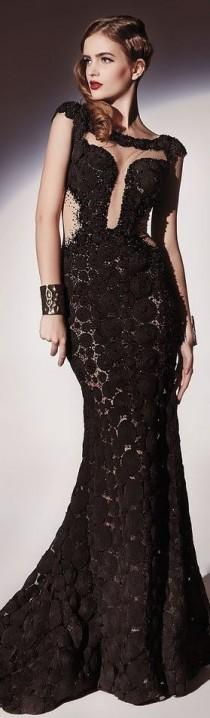 wedding photo - Gowns........Black Beauties