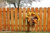 wedding photo - How to Make Fall Wreath - DIY & Crafts - Handimania