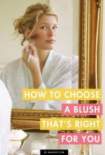 wedding photo - How to Choose the Right Blush for You