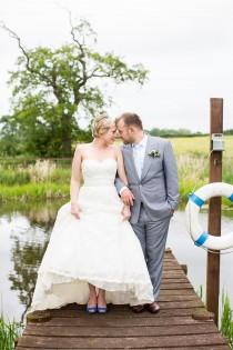 wedding photo - Fresh Fun & Relaxed Blue & Green Wedding