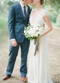 wedding photo - Elegant Olive Grove wedding inspiration with Jenny Packham Bride - Wedding Sparrow