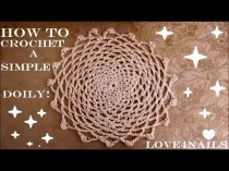 wedding photo - How To Crochet A Simple Classic Doily