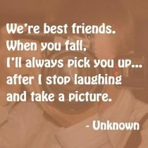 wedding photo - Best Friend Quote