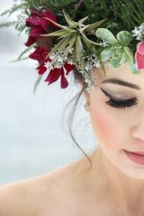 wedding photo - Winter Wedding Inspiration In Lakeside, Montana