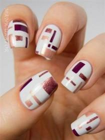 wedding photo - 11 Elegant Fall Nail Art Designs To Try Now