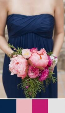 wedding photo - 5 Midnight Blue Wedding Color Palettes