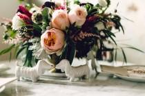 wedding photo - ; It's a Puppy Wedding!