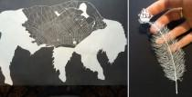 wedding photo - Paper Carvings