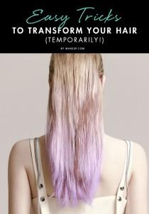wedding photo - Easy Tricks to Transform Your Hair (Temporarily!)