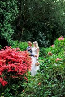 wedding photo - Romantic & Rustic Lakeside Wedding