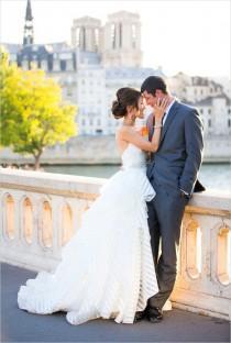 wedding photo - Gold Glamour Wedding in Paris