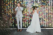wedding photo - Downtown Los Angeles Wedding Ruffled