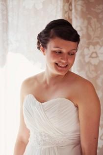 wedding photo - Funfair Farm DIY Red & White Wedding