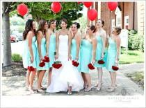wedding photo - Aqua/Tiffany Blue Wedding Palette