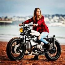 wedding photo - Girl Bike