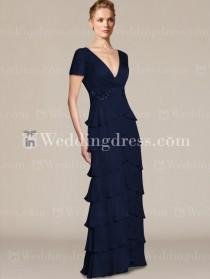wedding photo -  plus size mother of the bride dresses