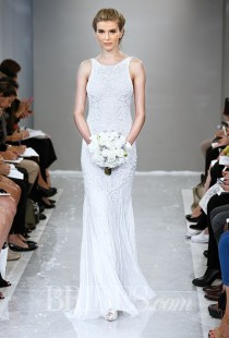 wedding photo - Theia Wedding Dresses Fall 2015 Bridal Runway Shows Brides.com