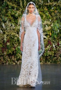 wedding photo - Claire Pettibone Wedding Dresses Fall 2015 Bridal Runway Shows Brides.com