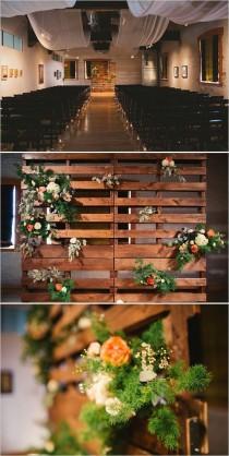 wedding photo - Gray And Peach Wedding
