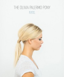 wedding photo - Effortlessly Chic DIY Olivia Palermo Inspired Ponytail