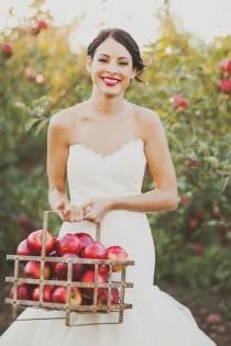 wedding photo - Apple Orchard Wedding Inspiration
